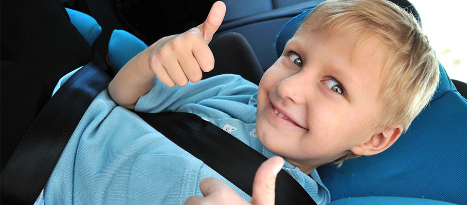 Why kids should always be buckled up