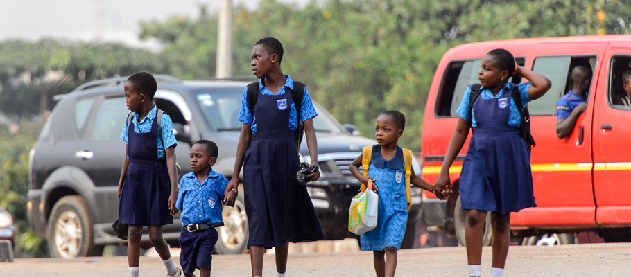 children and road safety
